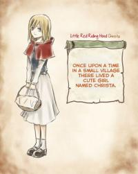 Shingeki no Kyojin - Little Red Riding Hood Christa (doujinshi)