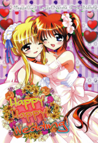 Mahou Shoujo Lyrical Nanoha - Happy Happy Wedding (Doujinshi)