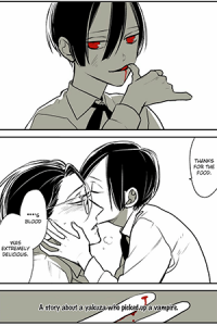 A story about a yakuza who picked up a Vampire