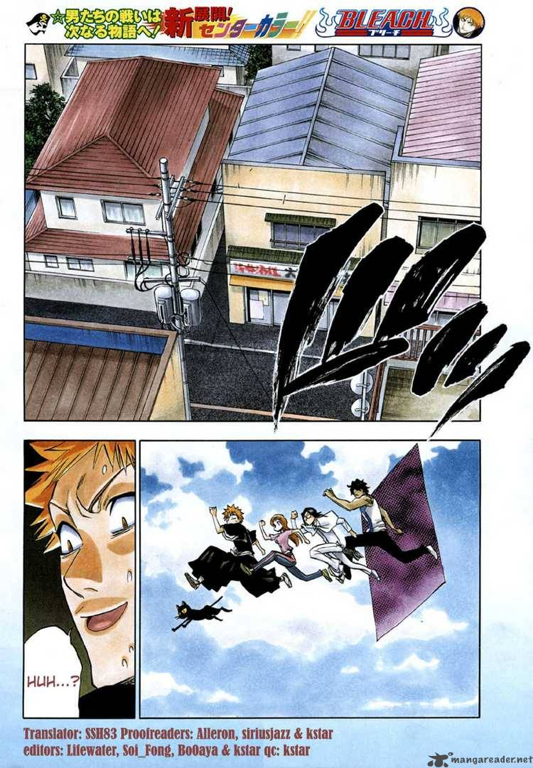 Bleach 182 Get Back From The Storm