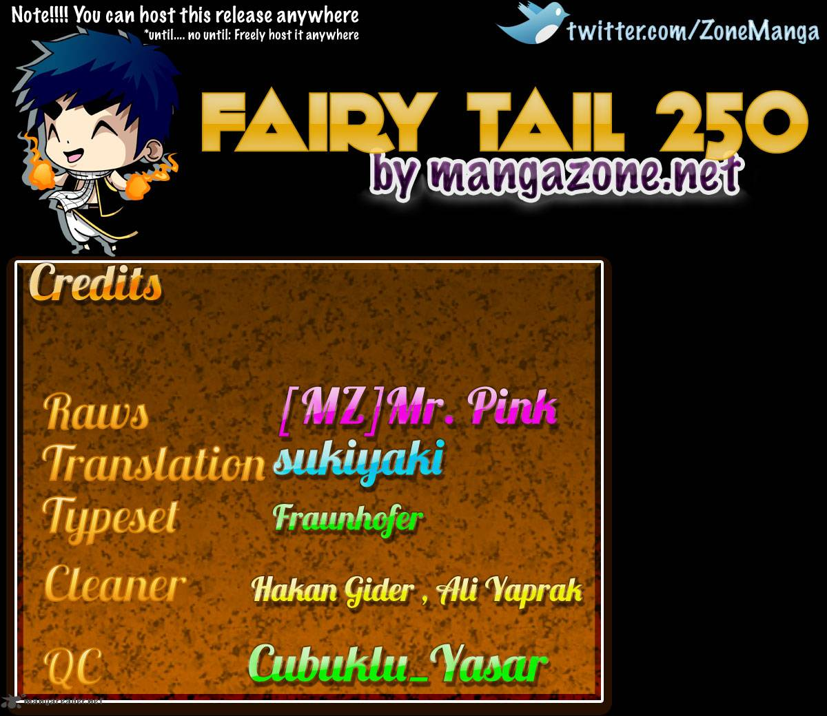 Fairy Tail 250