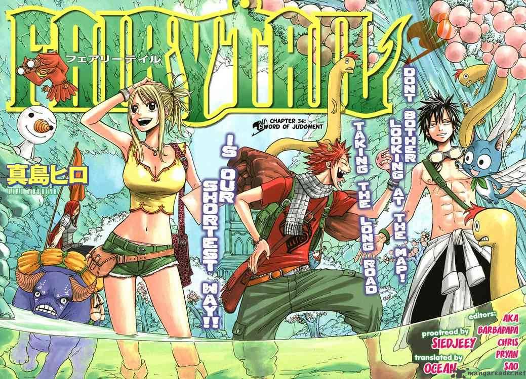 Fairy Tail Ch 34