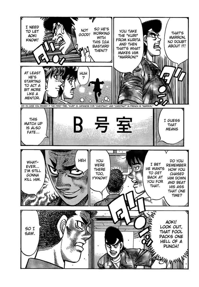 Hajime no Ippo - Chapter 912