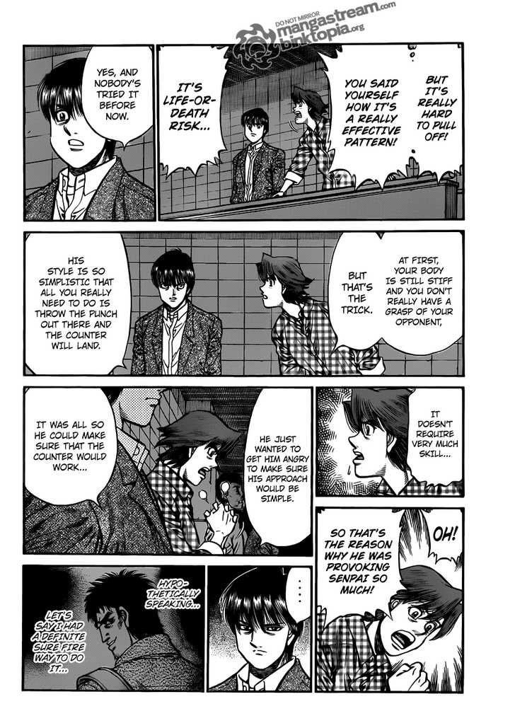 Hajime no Ippo - Chapter 936