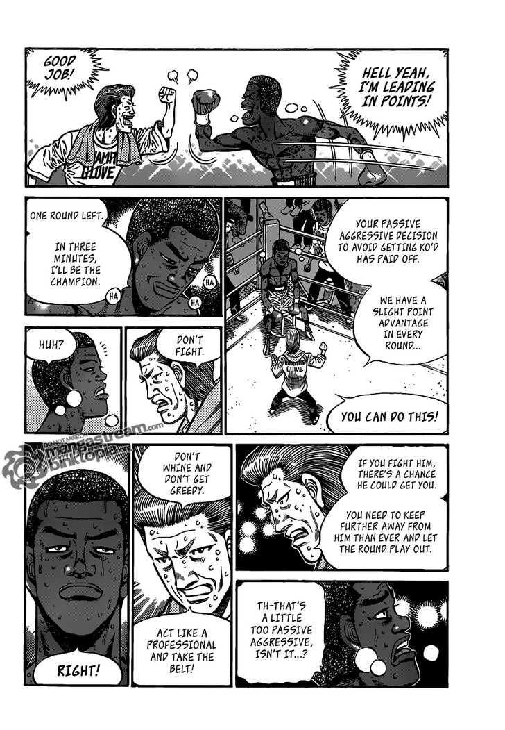 Hajime no Ippo - Chapter 942